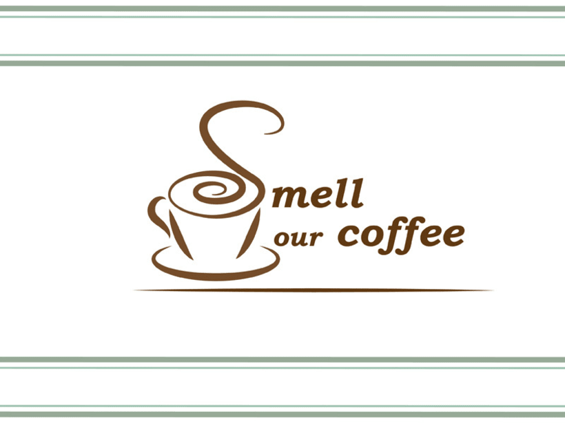 Smell our coffee. Diseño Identidad corporativa 0