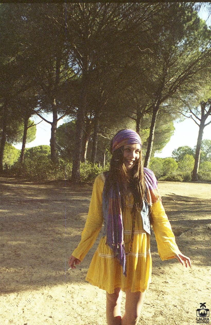 Moda hippie, analógico digitalizado 7