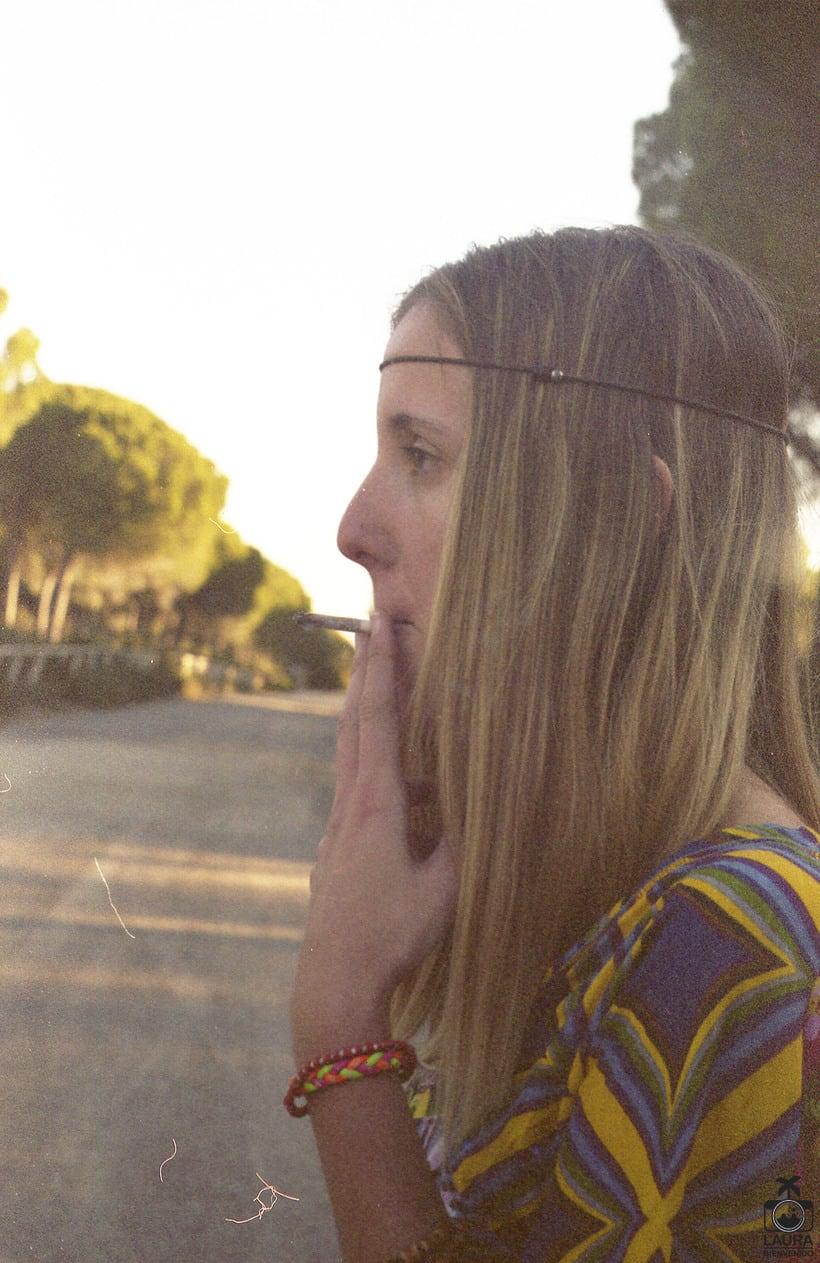 Moda hippie, analógico digitalizado 5