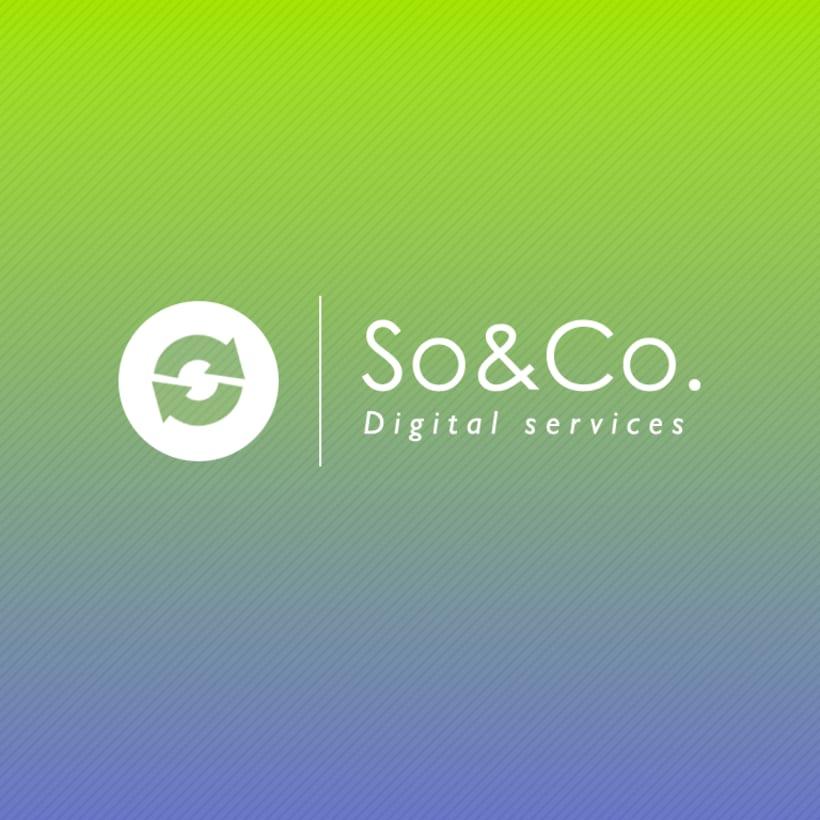 Diseño de logotipo: SO&CO Digital Services 4