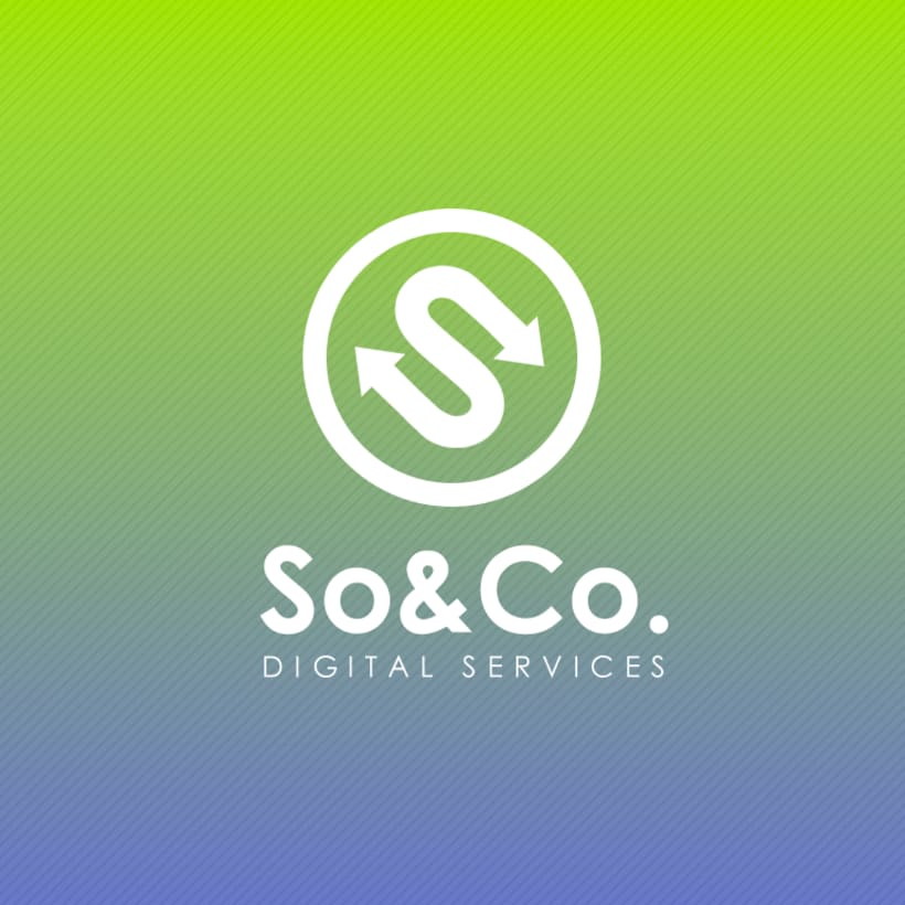 Diseño de logotipo: SO&CO Digital Services 1