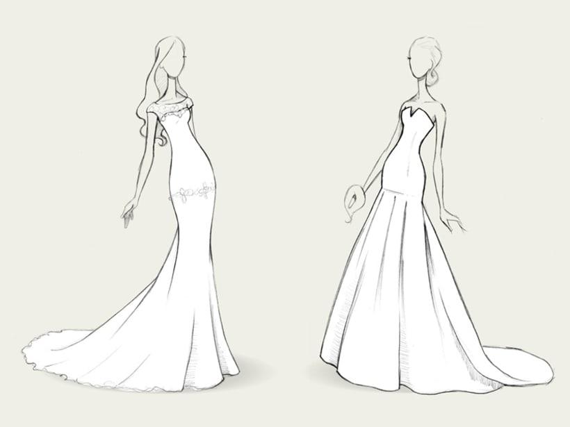 Bocetos de novia / PRONOVIAS 2