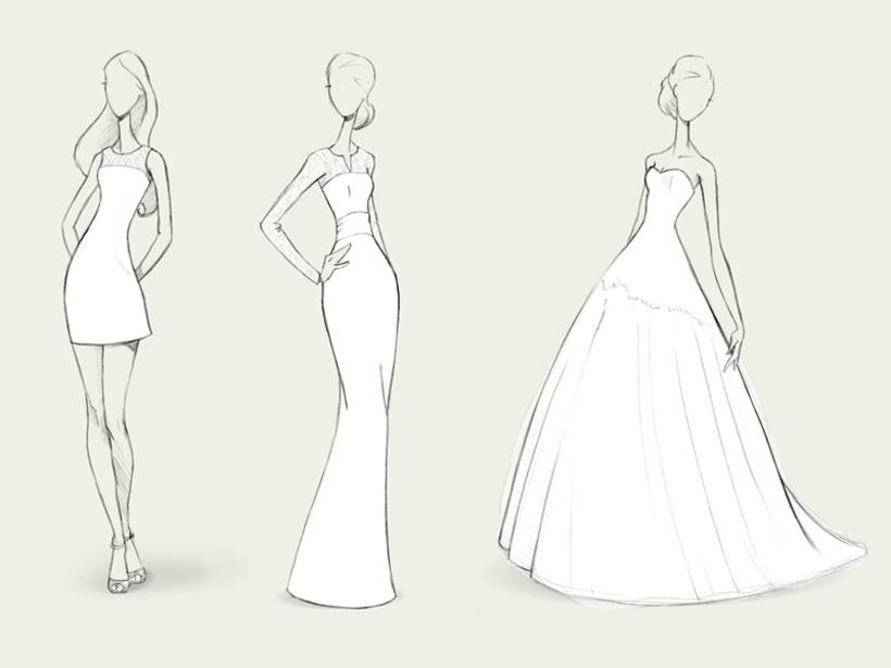 Bocetos de novia / PRONOVIAS 4