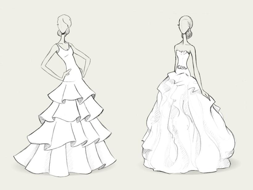 Bocetos de novia / PRONOVIAS 5