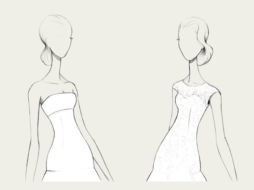 Bocetos de novia / PRONOVIAS 6
