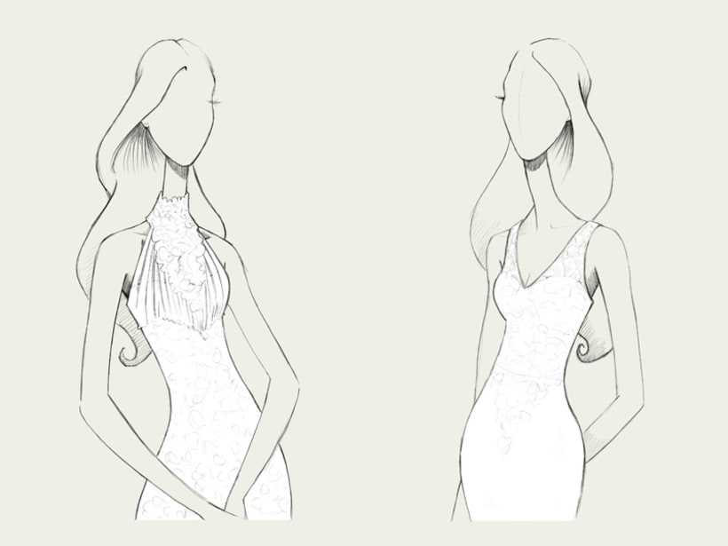 Bocetos de novia / PRONOVIAS 8