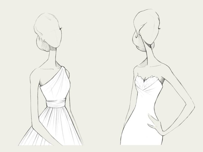 Bocetos de novia / PRONOVIAS 10