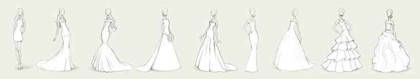 Bocetos de novia / PRONOVIAS 0
