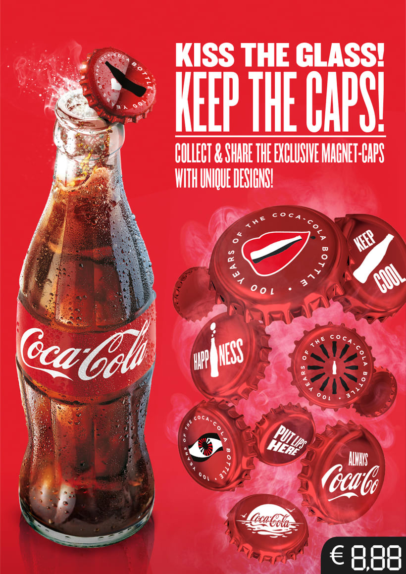 Coca Cola Shopper Toolkit: Kiss Happiness 2015 0
