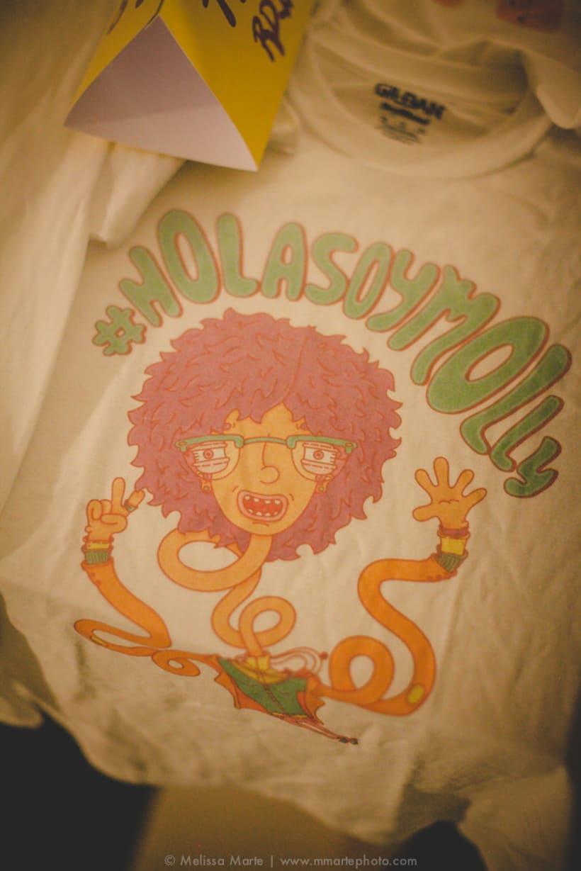 Expo #Holasoymolly 8
