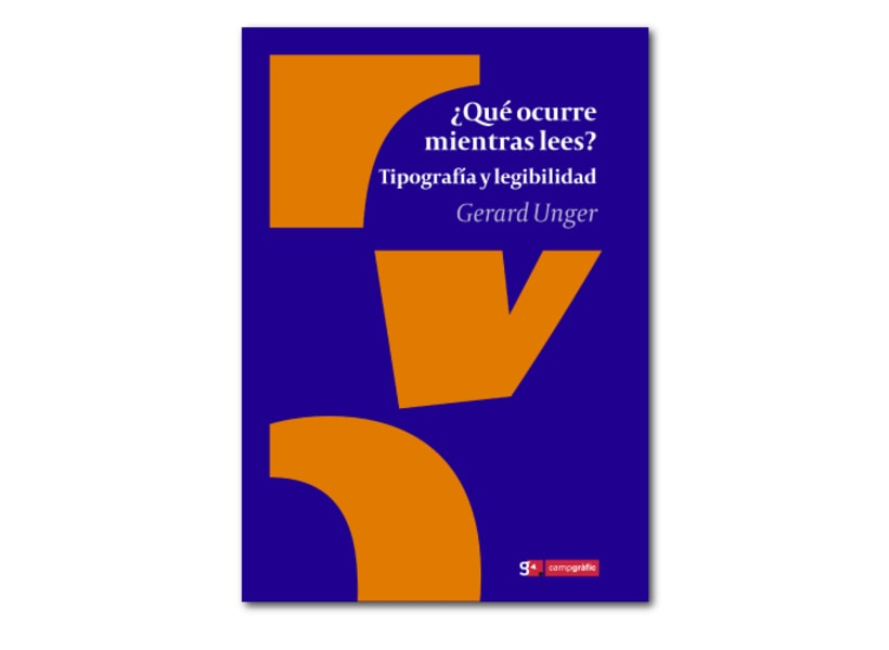 Compro libro ¿Qué ocurre mientras lees? de Gerard Unger 1