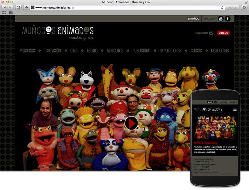 Web Muñecos Animados 0