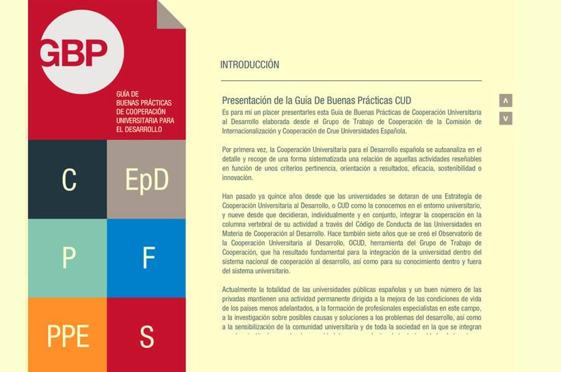 Guía de Buenas Prácticas de Cooperación Universitaria para el Desarrollo 2