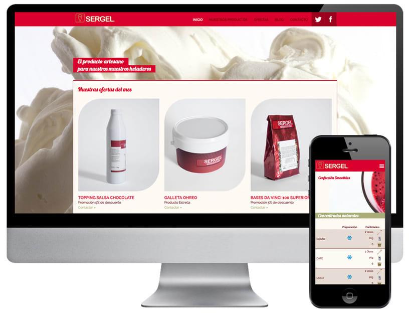 Diseño web Sergel 0