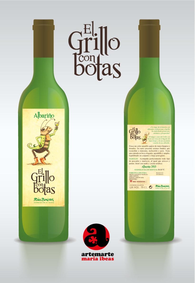 Diseño de varias etiquetas de Vino para Grupo Gallego Valei 0