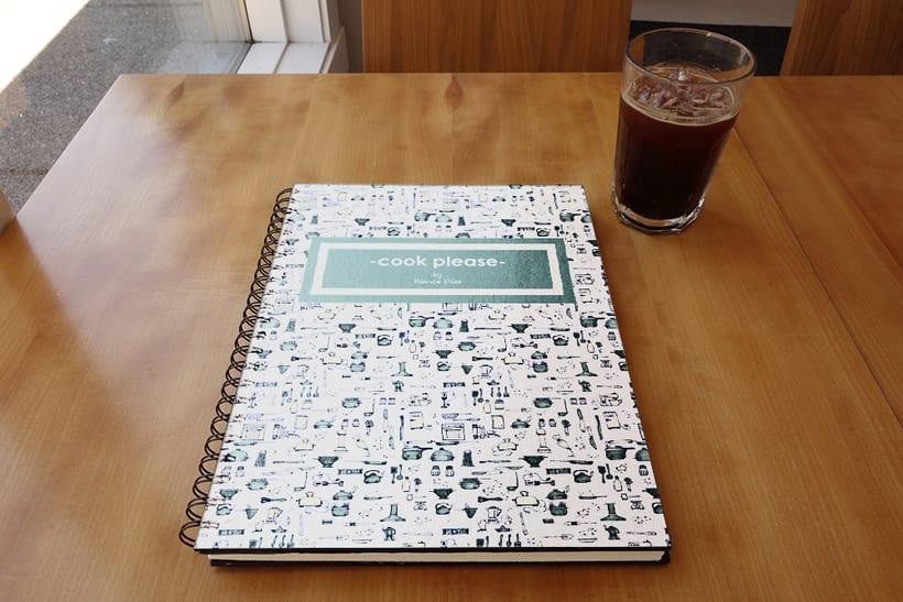 Mi Proyecto del curso: Motivos para repetir _ Cuaderno de recetas de cocina. 1