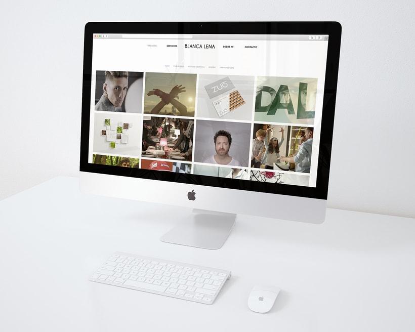 BLANCA LENA | VÍDEO & DISEÑO. Curso Iniciación al Diseño Web con WordPress 1