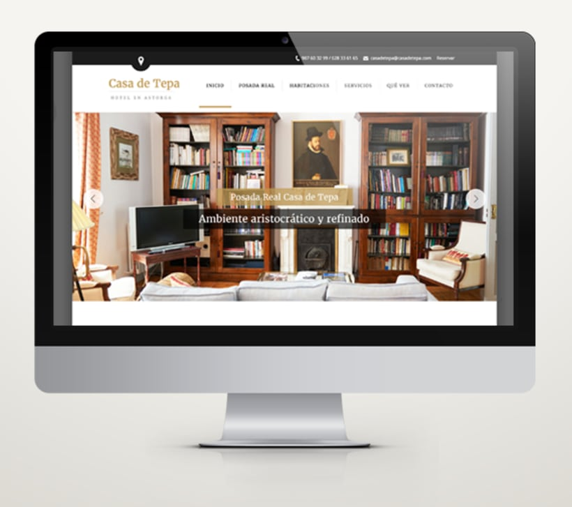 Web Hotel Casa de Tepa 1