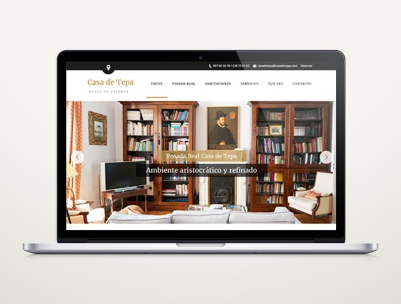 Web Hotel Casa de Tepa 2
