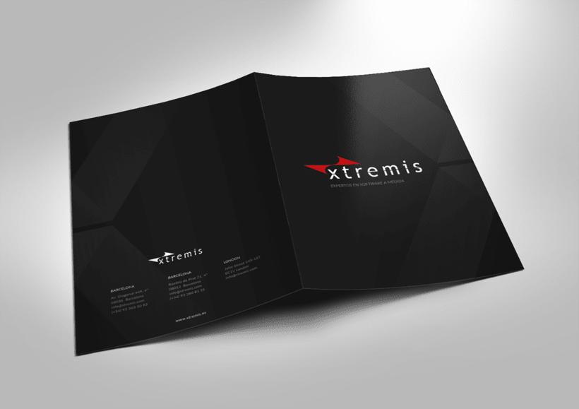 Diseño corporativo para Xtremis 2