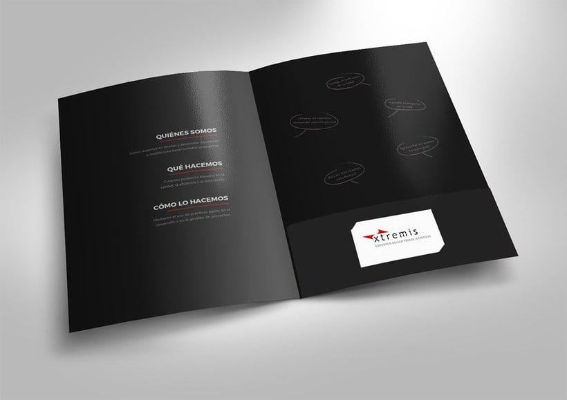 Diseño corporativo para Xtremis 3
