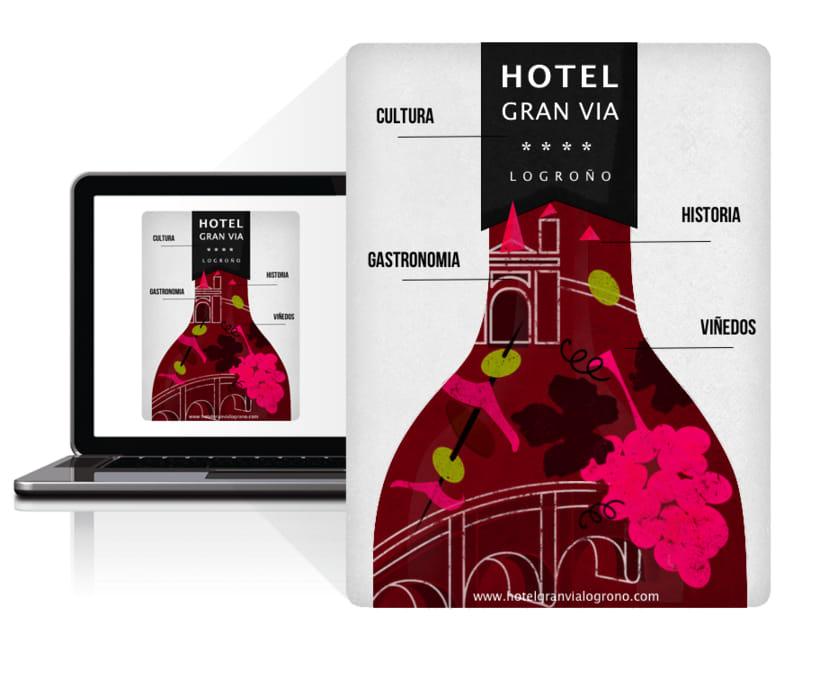 Newsletter para Hotel Gran Vía 1