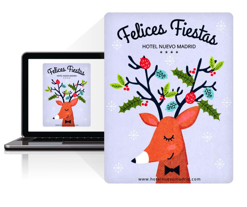 Newsletter de Navidad para Hotel Nuevo Madrid 1