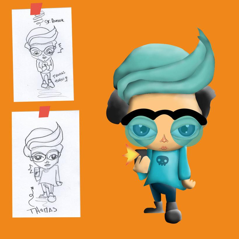 Diseño y Creación de Personajes 3