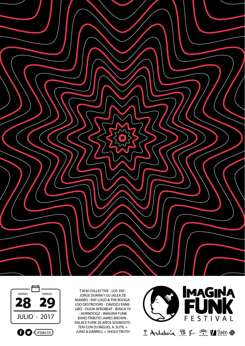 Imagina Funk Festival #Take10 - Campaña publicitaria 0