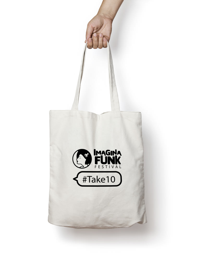 Imagina Funk Festival #Take10 - Campaña publicitaria 10