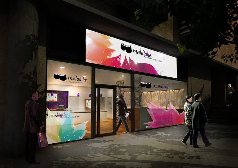 Franquicia restaurantes Makitake Urban Sushishop 6
