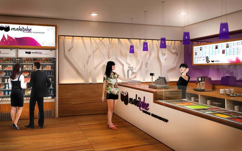 Franquicia restaurantes Makitake Urban Sushishop 9