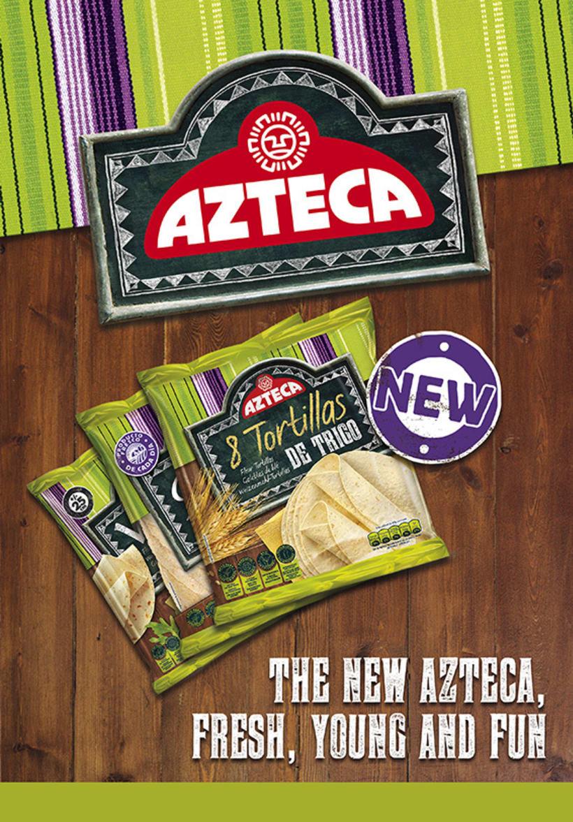 Lanzamiento Azteca Tex-Mex Food -1