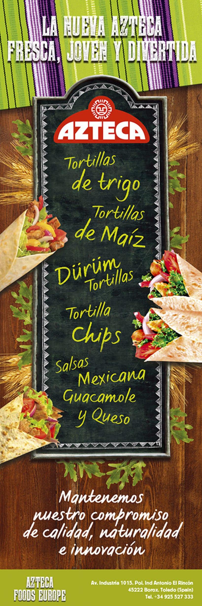 Lanzamiento Azteca Tex-Mex Food 2