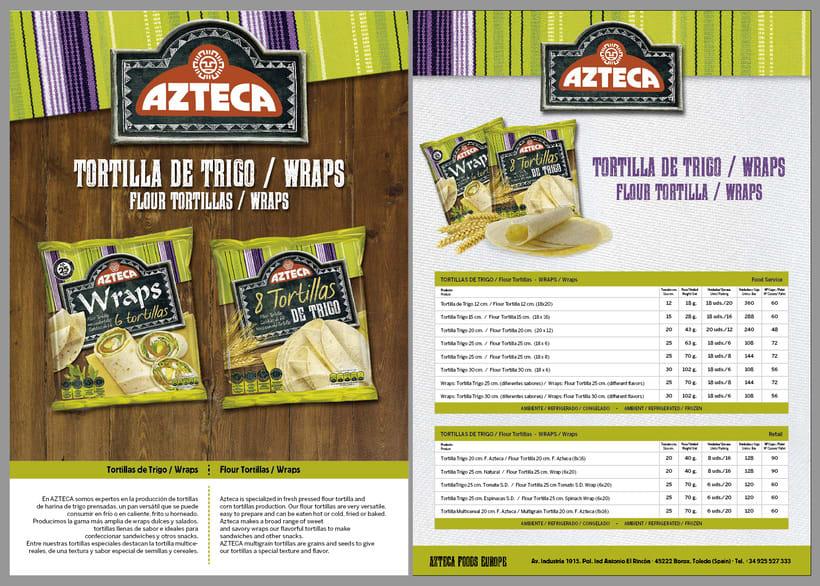 Lanzamiento Azteca Tex-Mex Food 5