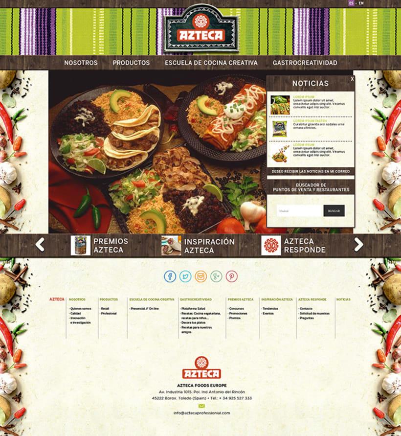 Lanzamiento Azteca Tex-Mex Food 6