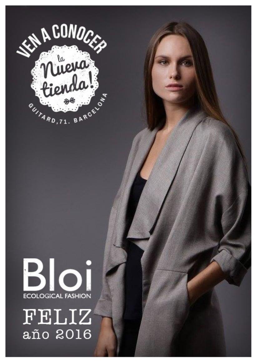 Proyecto gráfico para Bloi. Ecological Fashion 2