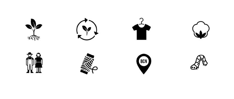 Identidad gráfica para Bloi. Ecological Fashion 1