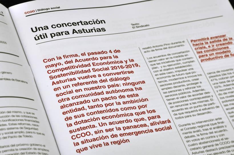 El Sindicato, Nº7. El periódico de CCOO. 4