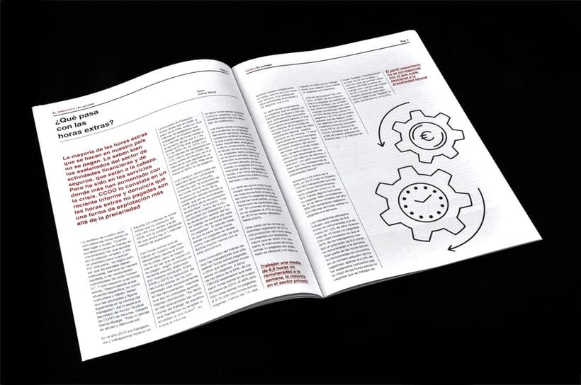 El Sindicato, Nº7. El periódico de CCOO. 8