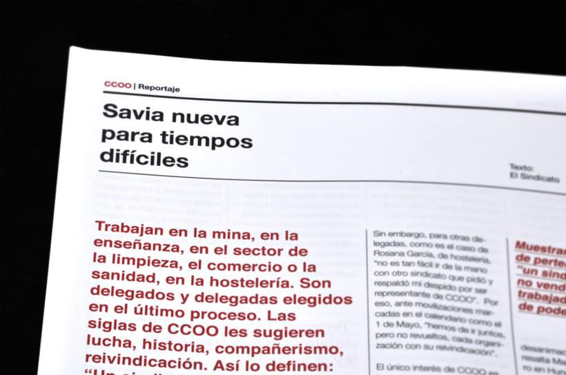 El Sindicato, Nº7. El periódico de CCOO. 9
