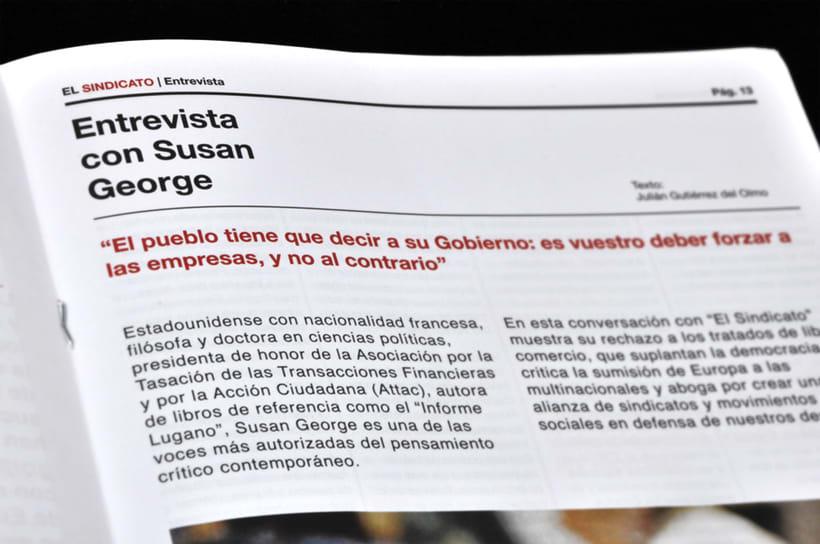 El Sindicato, Nº7. El periódico de CCOO. 12
