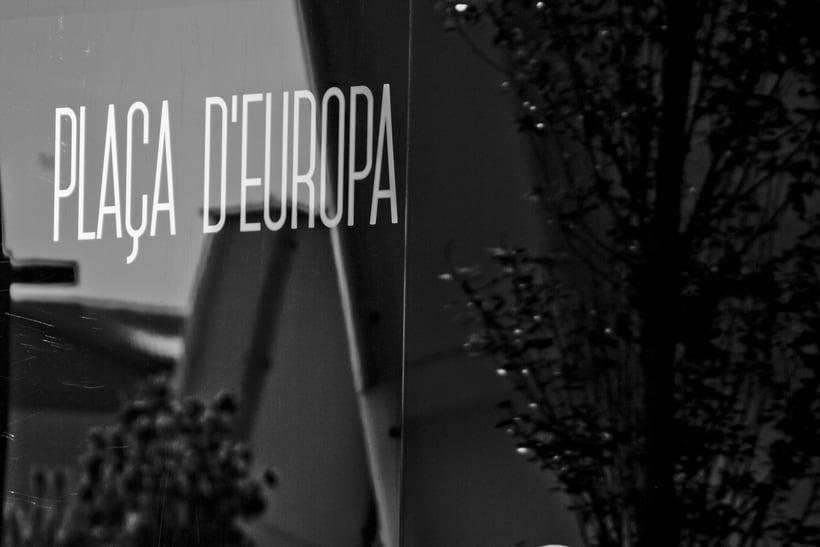 Plaça d'Europa // Photography 11