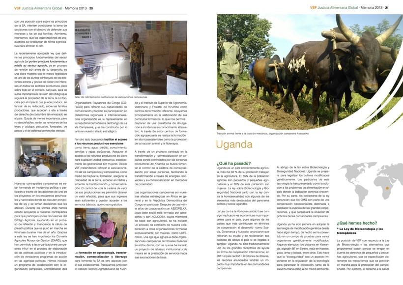 Revista VSF /// Ejemplo de maquetación e infografías en revistas impresas 1