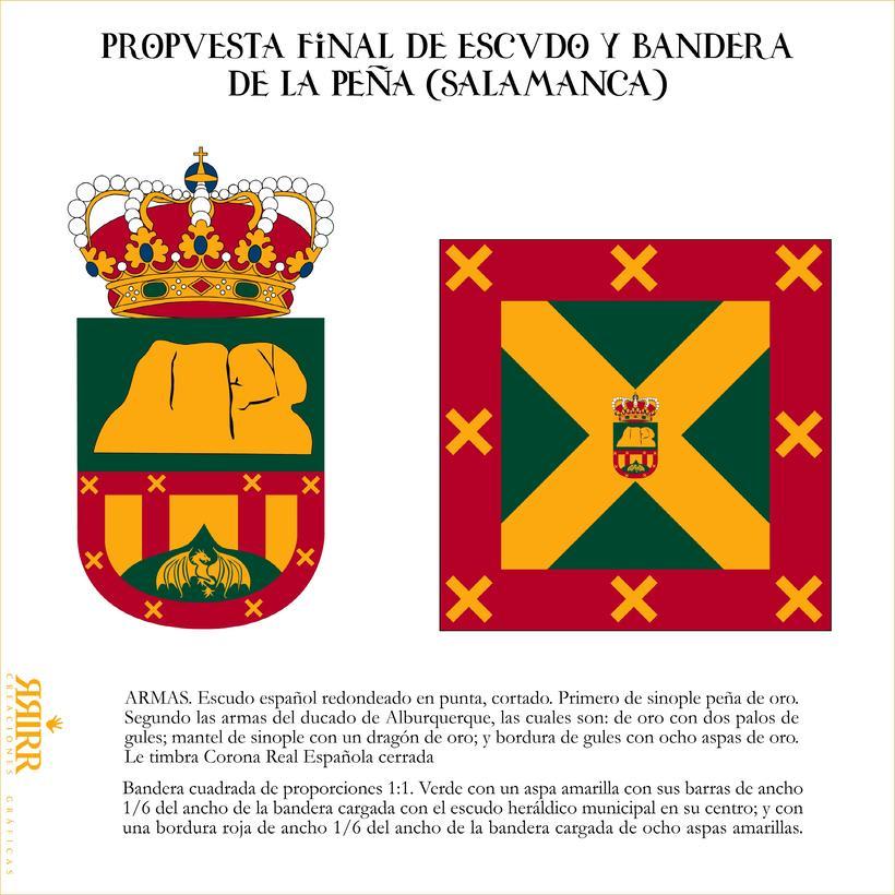 Escudo de La Peña (Salamanca) -1