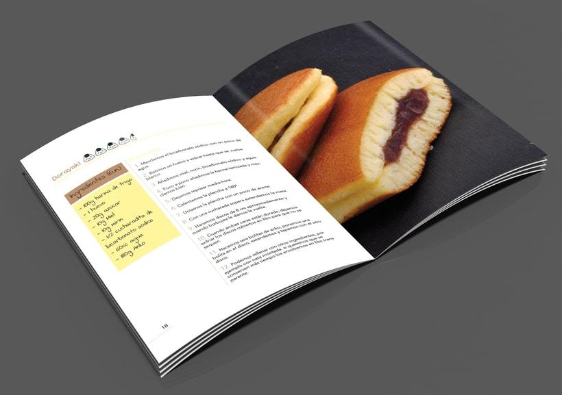 Carta de restaurante y recetario Japonés  5