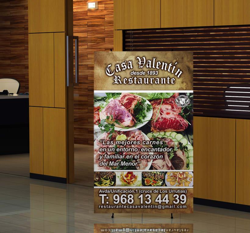 Banner carne para Restaurante Casa Valentín -1