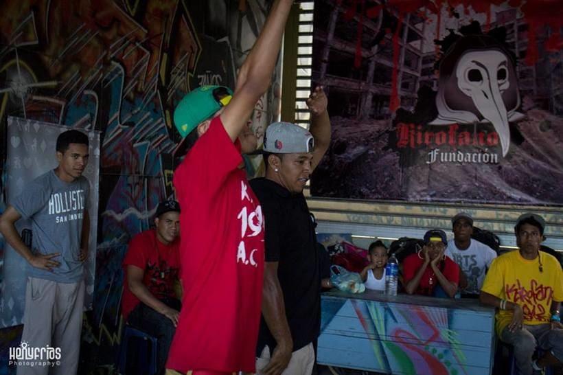 Competencia ( KIROFANO ARTES MARCIALES DEL GHETTO 2014) Caracas-Venezuela 2