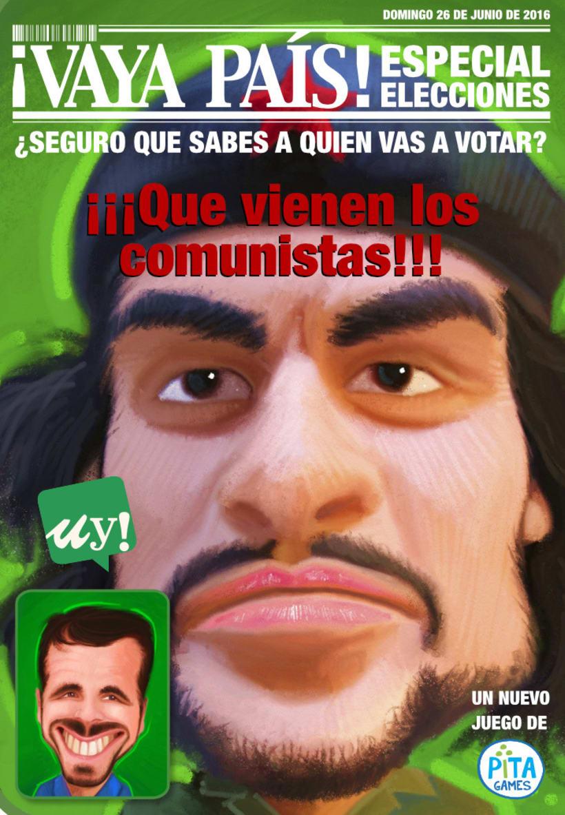 VAYA PAÍS, un juego de política y humor 3