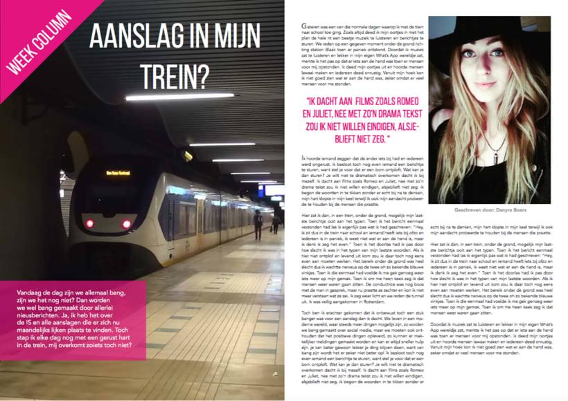 Proyecto de escuela (I had to have one page in Dutch) 1